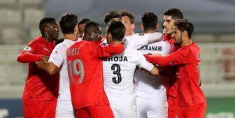 شادی پرسپولیسها پس از برد السد از دریچه دوربین AFC