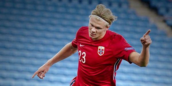 درخشش هالند در ترکیب تیم ملی نروژ