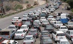 وضعیت ترافیکی در مسیر بازگشت از مرزهای سهگانه
