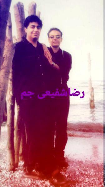 حمید لولایی و رضا شفیعی جم در دوران جوانی + عکس