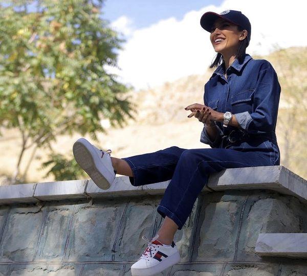 تیپ جین خانم بازیگر مردم معمولی + عکس