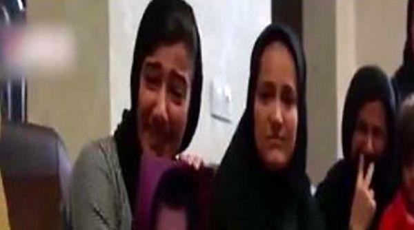 اشکهای دختر شهید در دیدار با قاتل پدرش/ فیلم