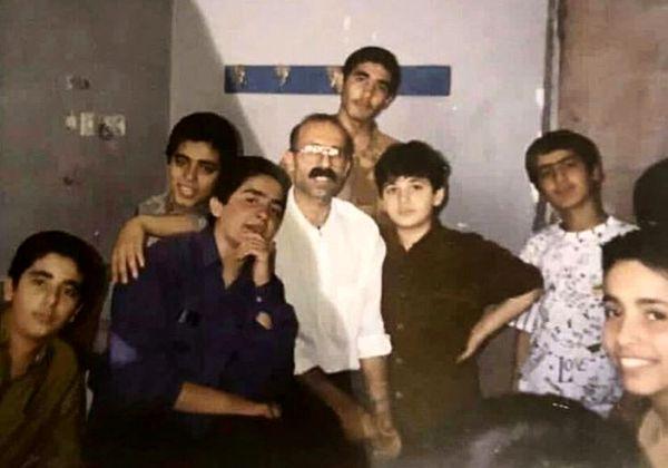 دوران مدرسه سعید شیخ زاده + عکس