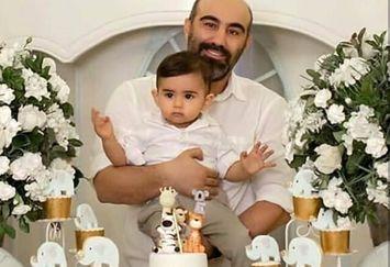 جشن تولد شیک پسر محسن تنابنده+عکس