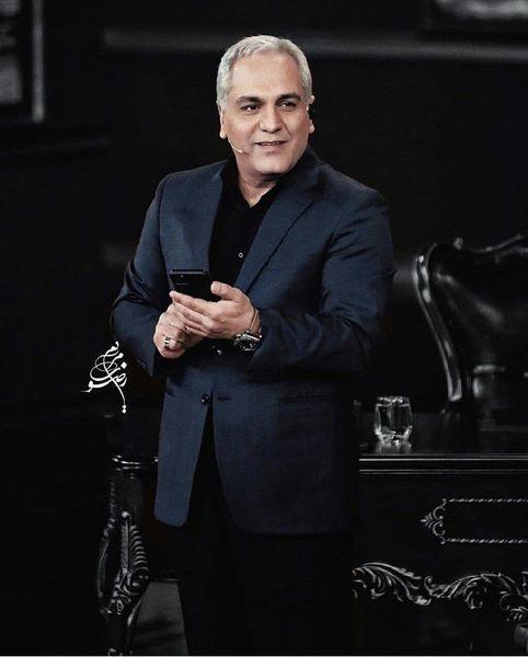 استایل شیک مهران مدیری در دورهمی + عکس