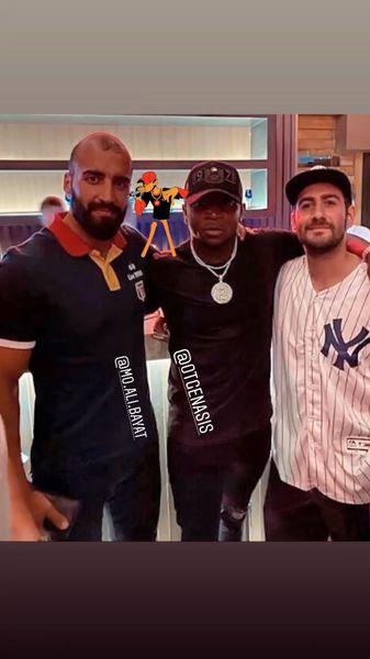 نیما شعباننژاد در کنار دوستان ورزشکارش + عکس