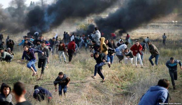 افزایش شمار شهدای تظاهرات بازگشت در نوارغزه