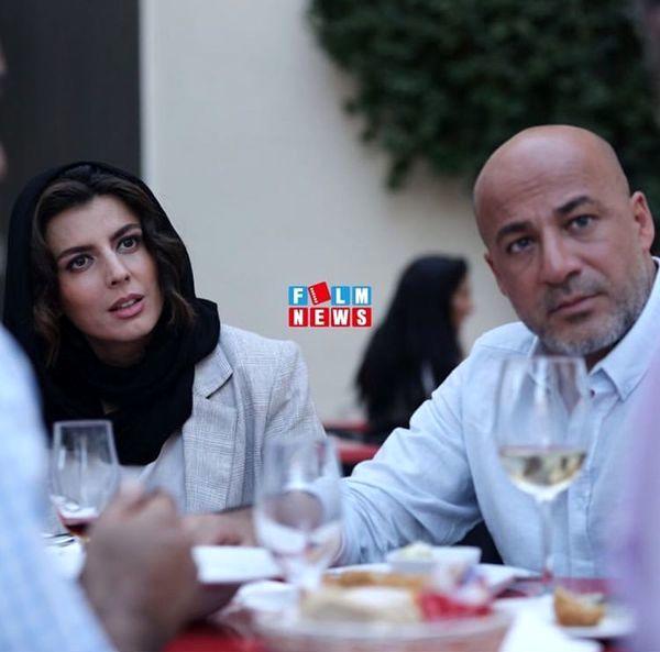 لیلا حاتمی و امیر آقایی در رستوران+عکس