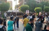 به آتش کشیدن پرچم فرانسه و تصاویر «ماکرون» در عراق