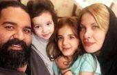 سفر رضا صادقی به همراه همسر و دخترانش به شمال کشور! عکس