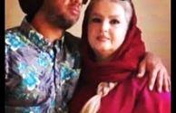 عکس علی صادقی و مادر جوانش