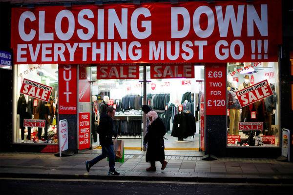 تعطیلی عجیب فروشگاههای زنجیرهای انگلیس