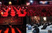 نظم دقیق هیأتها در شب اول محرم +تصاویر
