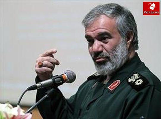 سردار فدوی:قدرت انقلاب اسلامی متصل به قدرت خداست