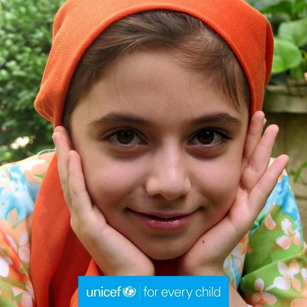 تبریک مهتاب کرامتی و یونیسف به کودکان