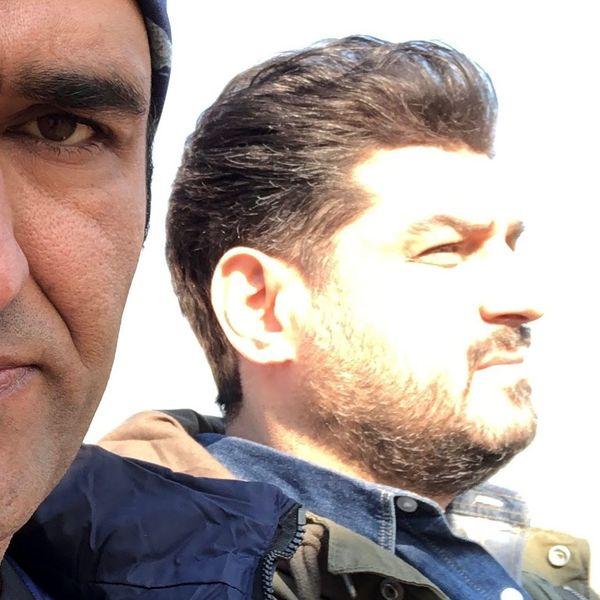دوستی جالب سام درخشانی و پژمان جمشیدی +عکس