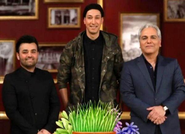 مهمان خوش قد و قامت مهران مدیری + عکس