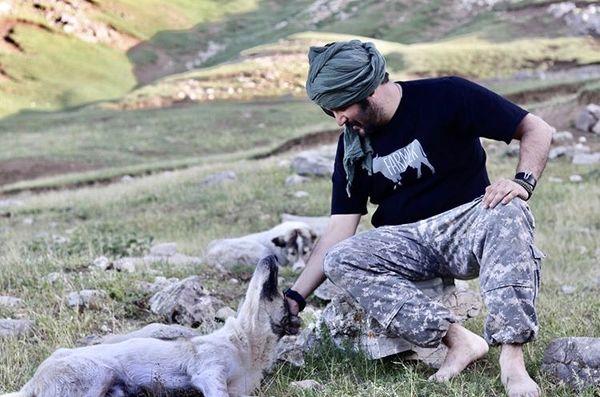 حیوان دوستی مهران رنجبر + عکس