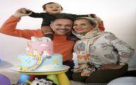 تولد کاملا خصوصی پسر بازیگر مشهور + عکس