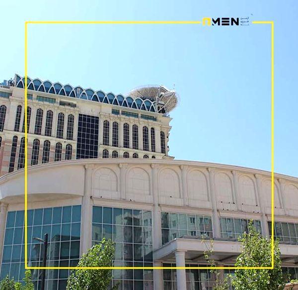 نمای شیشه ای تجربه ای جدید در نمای ساختمان مدرن