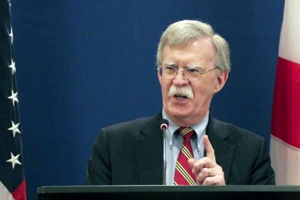 بولتون تهران را به تحریمهای بیشتر تهدید کرد