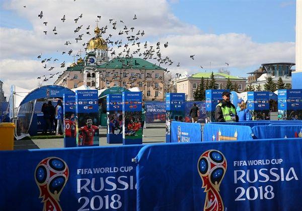 فیفا در انتظار فروش کامل بلیتهای جام جهانی 2018 روسیه