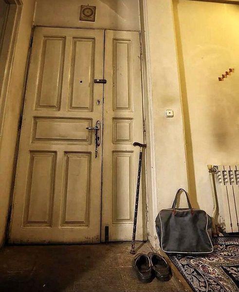 تصویر تکان دهنده از خانه علامه حکیمی + عکس