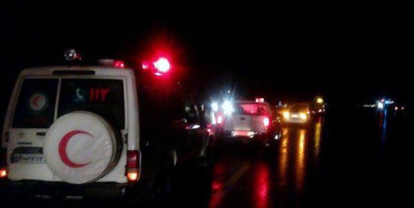 امدادرسانی به 5600 زائر اربعین در مرز مهران به دلیل طوفان و بارش شدید