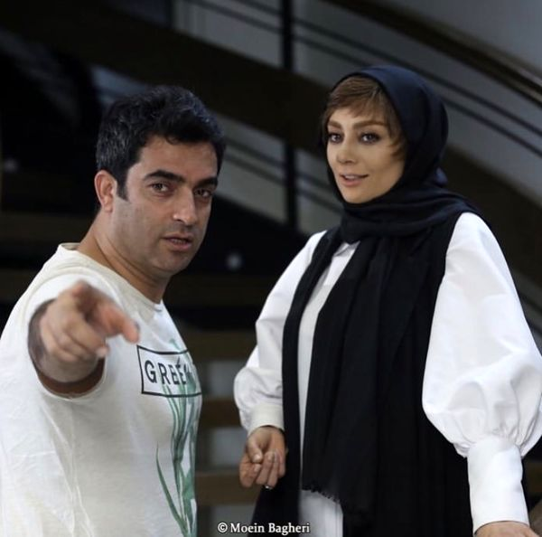 یکتا ناصر و همسرش در پشت صحنه + عکس