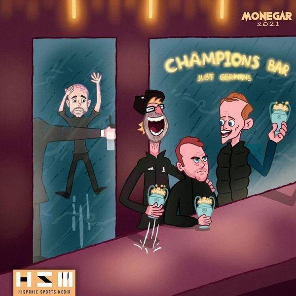ورود گواردیولا به این مکان ممنوع شد!+کاریکاتور