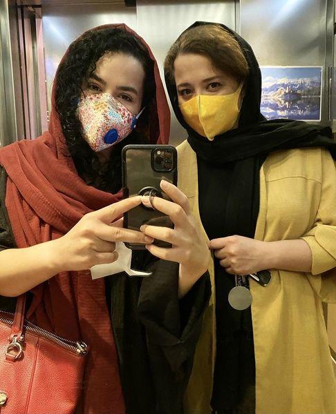 خواهران شریفی نیا در یک قاب + عکس