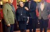 بهاره رهنما در کنار همسرش بعد از بازگشت از سفر طولانی کانادا+عکس