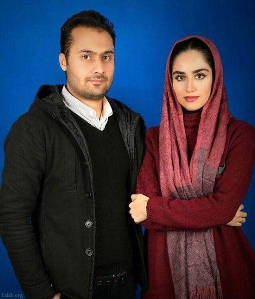 هانیه غلامی و همسر رشیدش+عکس
