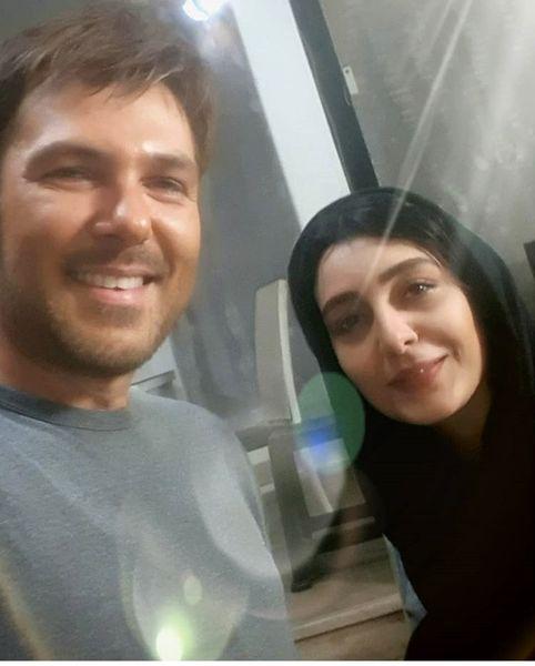 ساره بیات و همسر عاشق پیشه اش + عکس