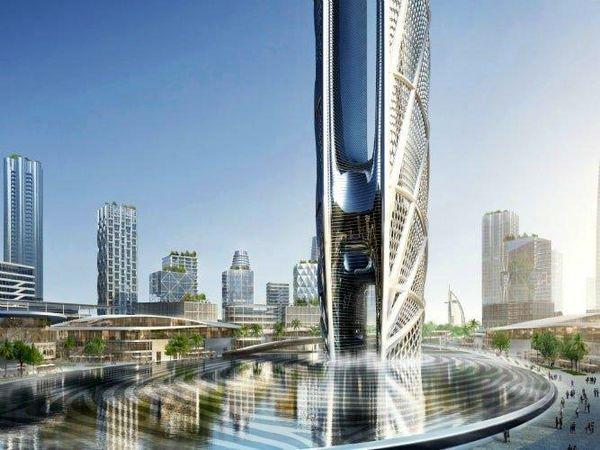 برج ۵۵۰ متری در دبی ساخته می شود