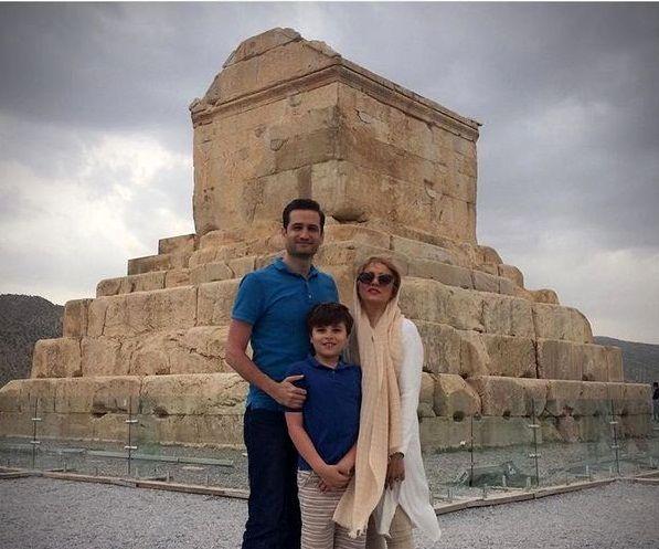 پویا امینی و همسرش مهمان کوروش+عکس