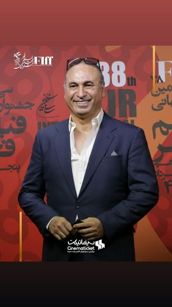استایل جدید حمید فرخنژاد در جشنواره بین المللی فجر + عکس