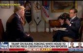 واکنش ترامپ به حکم دادگاه به نفع خبرنگار سیانان