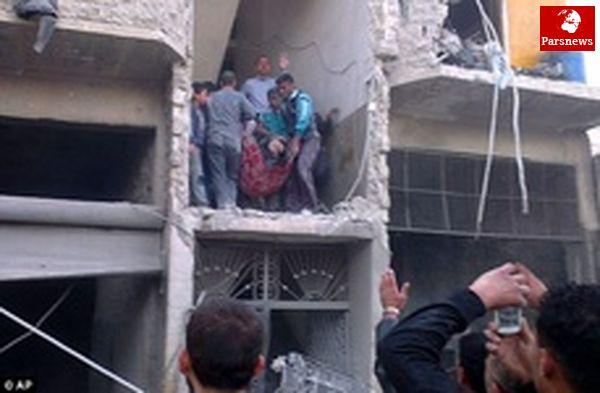 سوریه واکنش جدی جامعه جهانی به حمله شیمیایی راخواستارشد