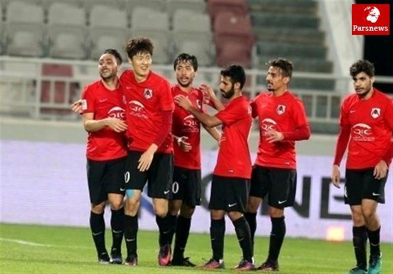 پیروزی حریف پرسپولیس در لیگ ستارگان قطر