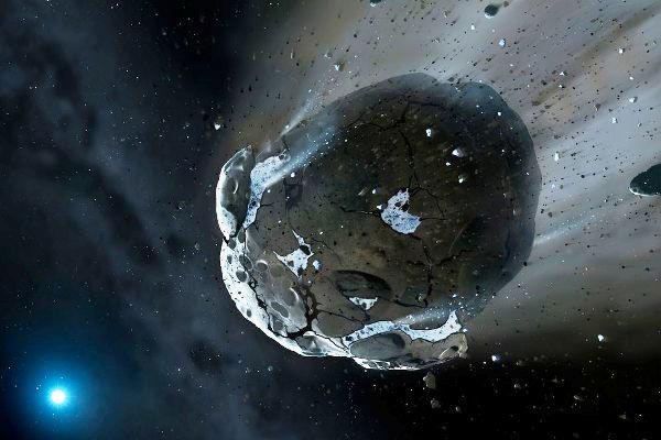 کشف سیارک غنی از کربن