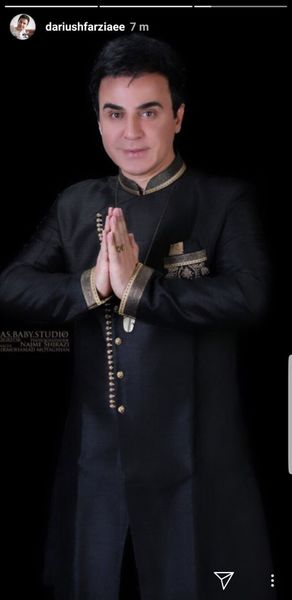 وقتی عمو پورنگ تیپ هندی میزنه + عکس