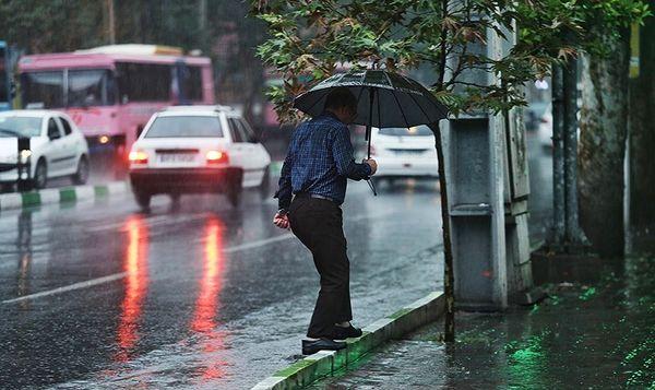پیش بینی ۵ روز بارانی برای برخی مناطق کشور