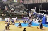 پیروزی مردان بسکتبال با ویلچر ایران برابر تایلند