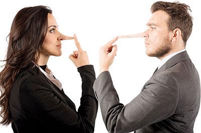 نحوه برخورد با همسر دروغگو