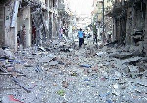 خروج ده ها غیرنظامی از شرق حلب