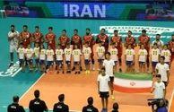 حریفان ایران در والیبال قهرمانی جهان مشخص شدند