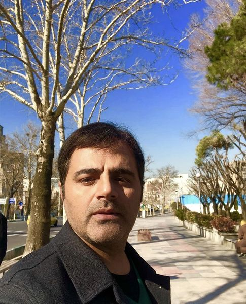 رضا مولایی در یک روز پاییزی + عکس