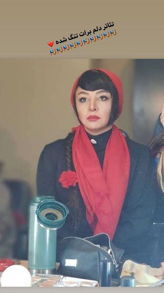 دلتنگی مه لقا باقری برای تئاتر + عکس