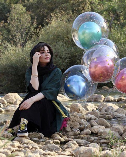 تولد رودخانه ای خانم بازیگر + عکس